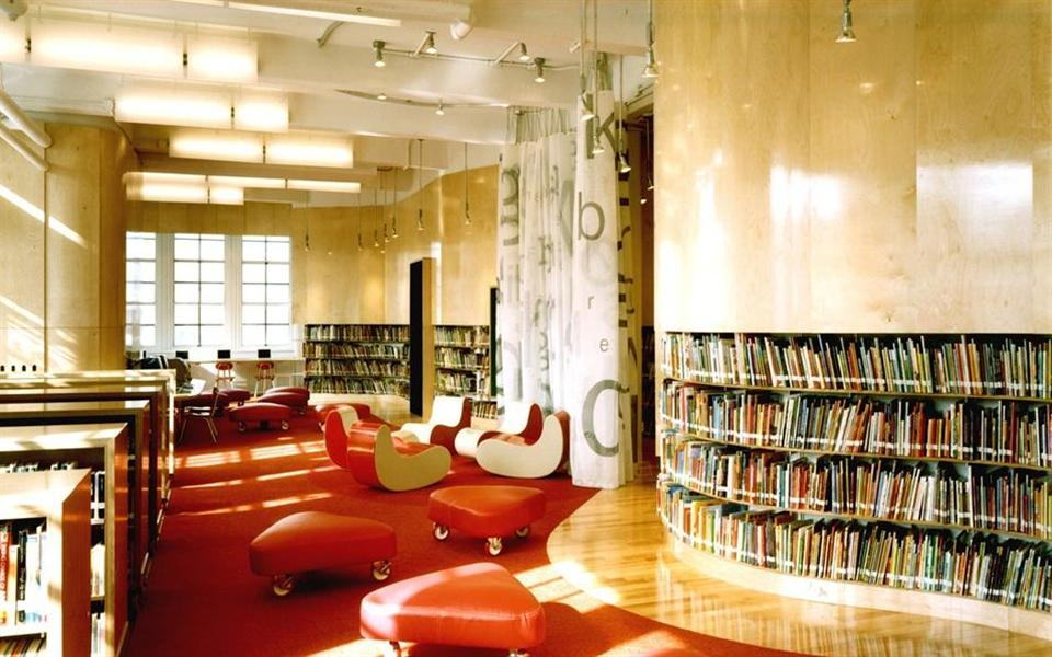 "As 8 bibliotecas mais incríveis e ""brincáveis"" ao redor do mundo"