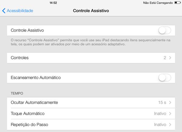 Ferramenta escondida no iOS 7 controla iPad com movimentos da cabeça