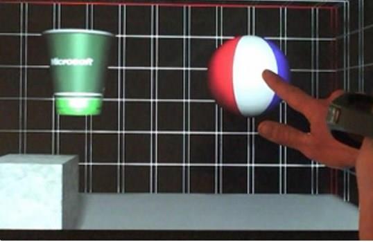 Microsoft conseguiu desenvolver objetos 3D sensíveis ao toque