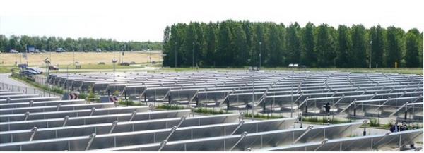 Painel solar de Almere
