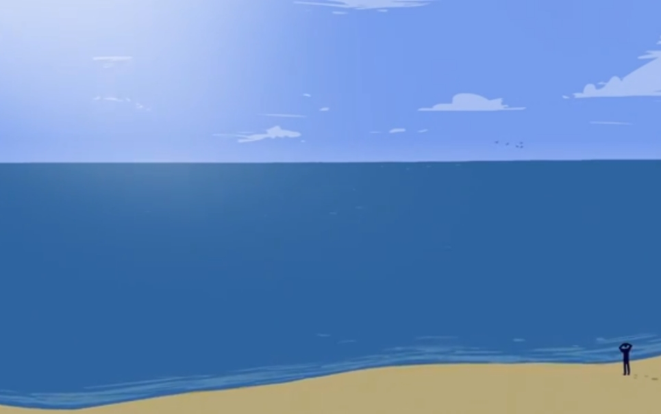 Você tem ideia de qual é o tamanho do oceano?