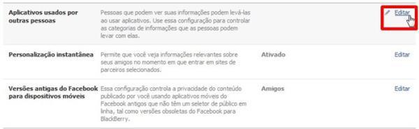 Facebook: como definir quais dados podem ser acessados por apps de amigos