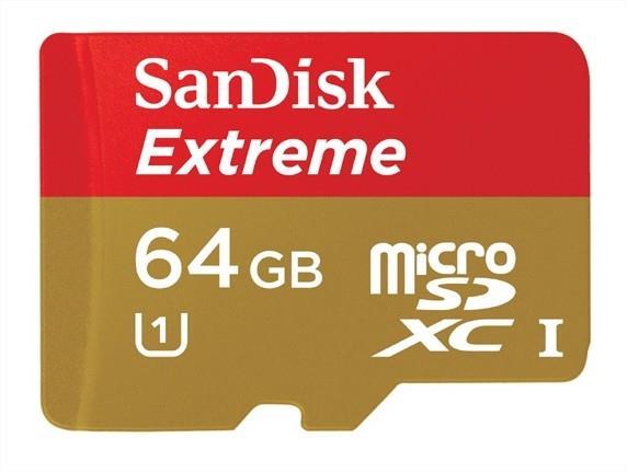 SanDisk apresenta o cartão micro SDXC de 64 GB mais rápido do mundo