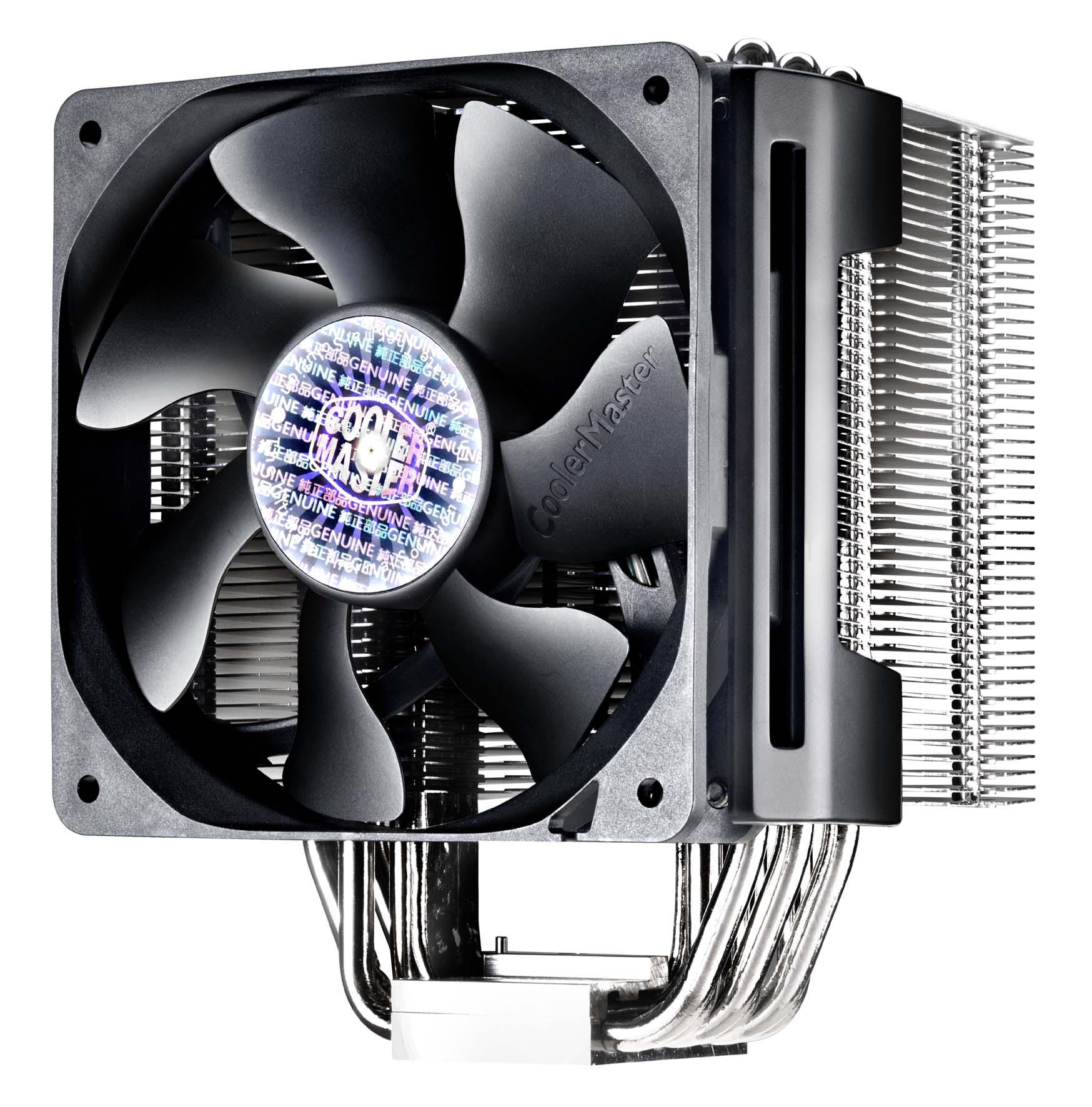 Cooler Master apresenta air coolers para refrigeração extrema