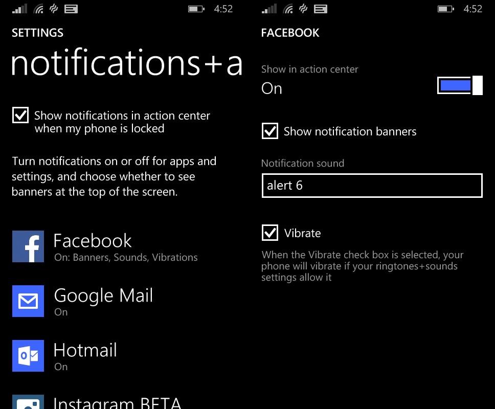 Windows Phone 8.1: como personalizar toques e notificações dos aplicativos
