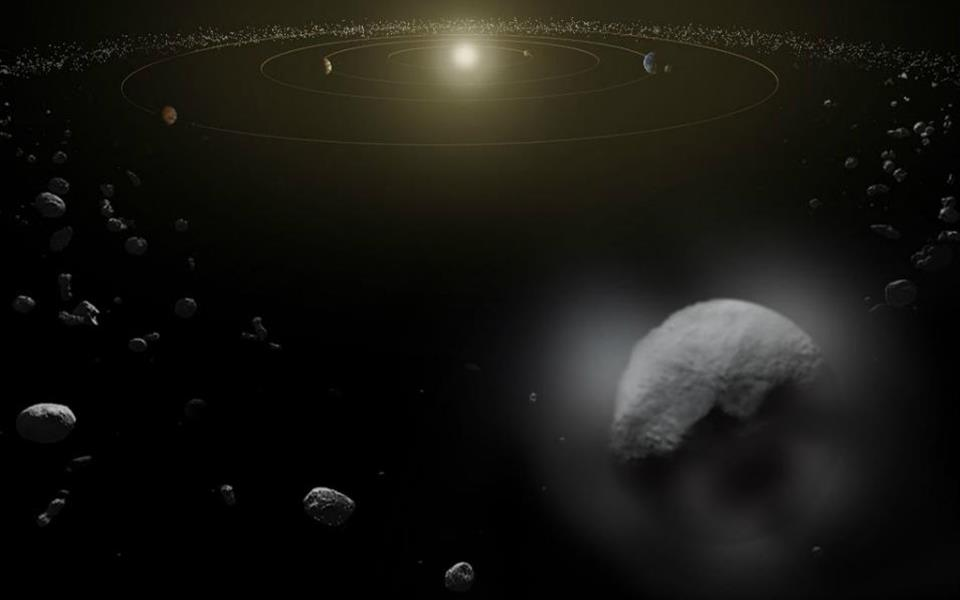 Telescópio da ESA encontra água em planeta anão do cinturão de asteroides