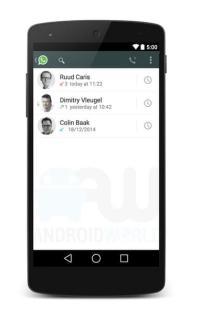 Veja imagens e detalhes das chamadas de voz via WhatsApp