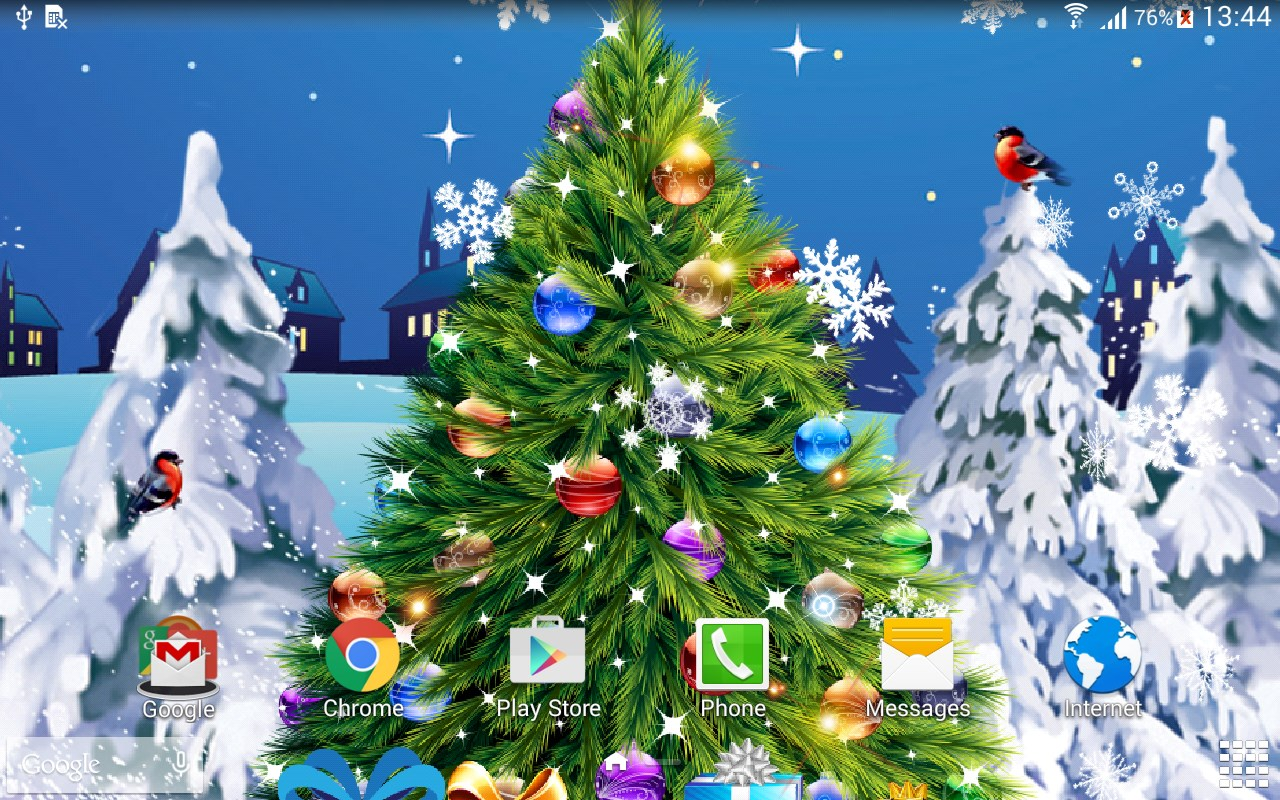 Real Snowflakes Falling Wallpaper Christmas Live Wallpaper Download