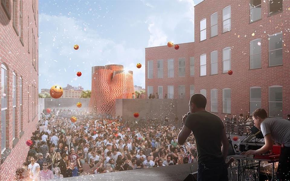 Torre feita de fungos será instalada em Nova York