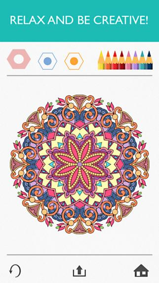 Colorfy Coloring Book Free : colorfy, coloring, Colorfy:, Coloring, Adults, Download, IPhone, Grátis