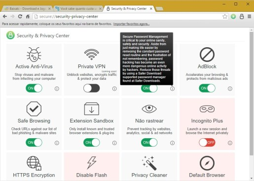 Secure Browser Free download