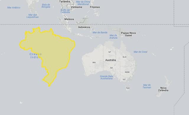 Brasil, Austrália e Oceania