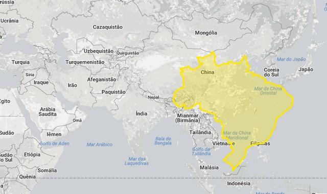 Brasil e países asiáticos
