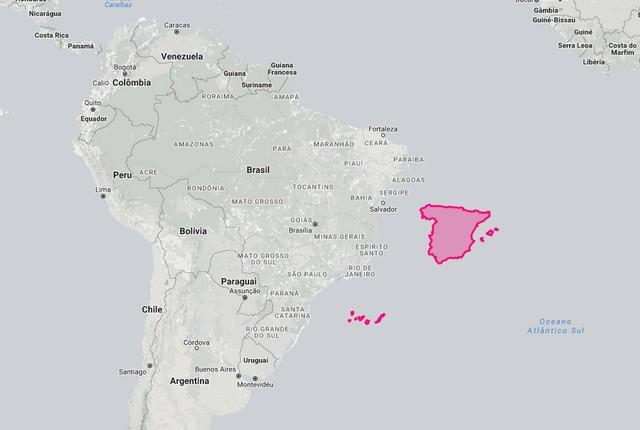 Espanha e Brasil