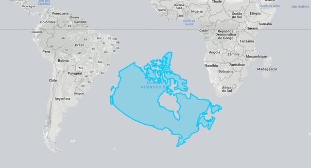 Canadá no Atlântico Sul