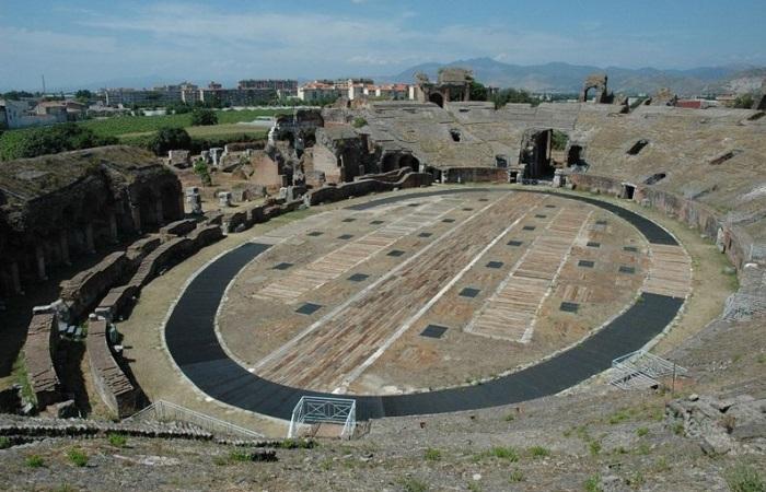 el coliseo romano antes y despues de adelgazar