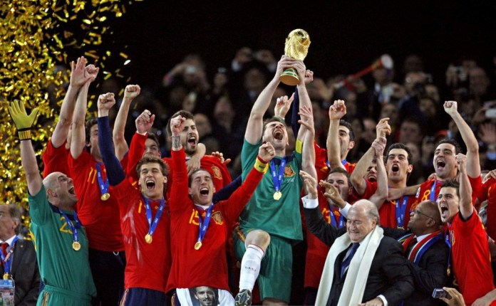 la Copa del Mundo de Sudáfrica