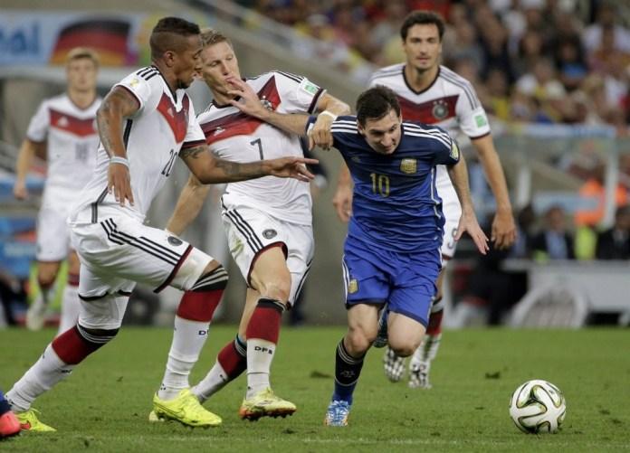 la Final de la Copa en Brasil