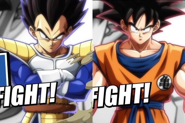 """Dragon Ball FigherZ: Goku und Vegeta """"normal"""" schlagen das h ** l aus einem Trailer"""