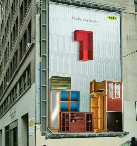 Tetris gigante