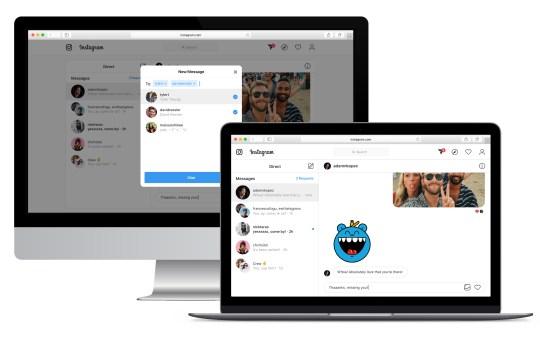Instagram agora permite enviar mensagens no Direct pelo desktop