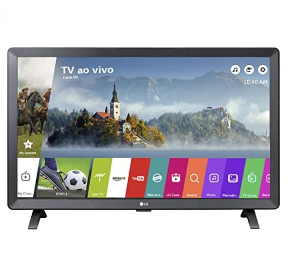 "Imagem: Smart TV LED 23,6"" LG 24TL520S"