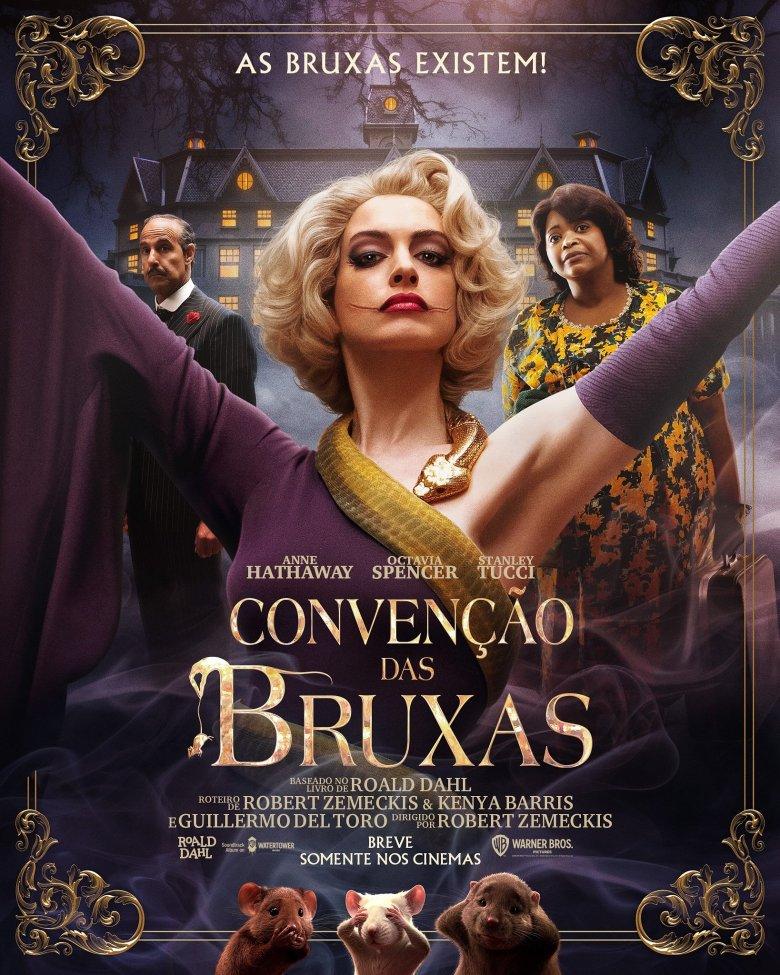 Convenção das Bruxas: remake com Anne Hathaway ganha 1º trailer - TecMundo