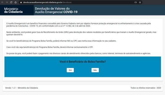 Os brasileiros notificados devem entrar no site do Ministério da Cidadania para gerar um Guia de Arrecadação Sindical (GRU)
