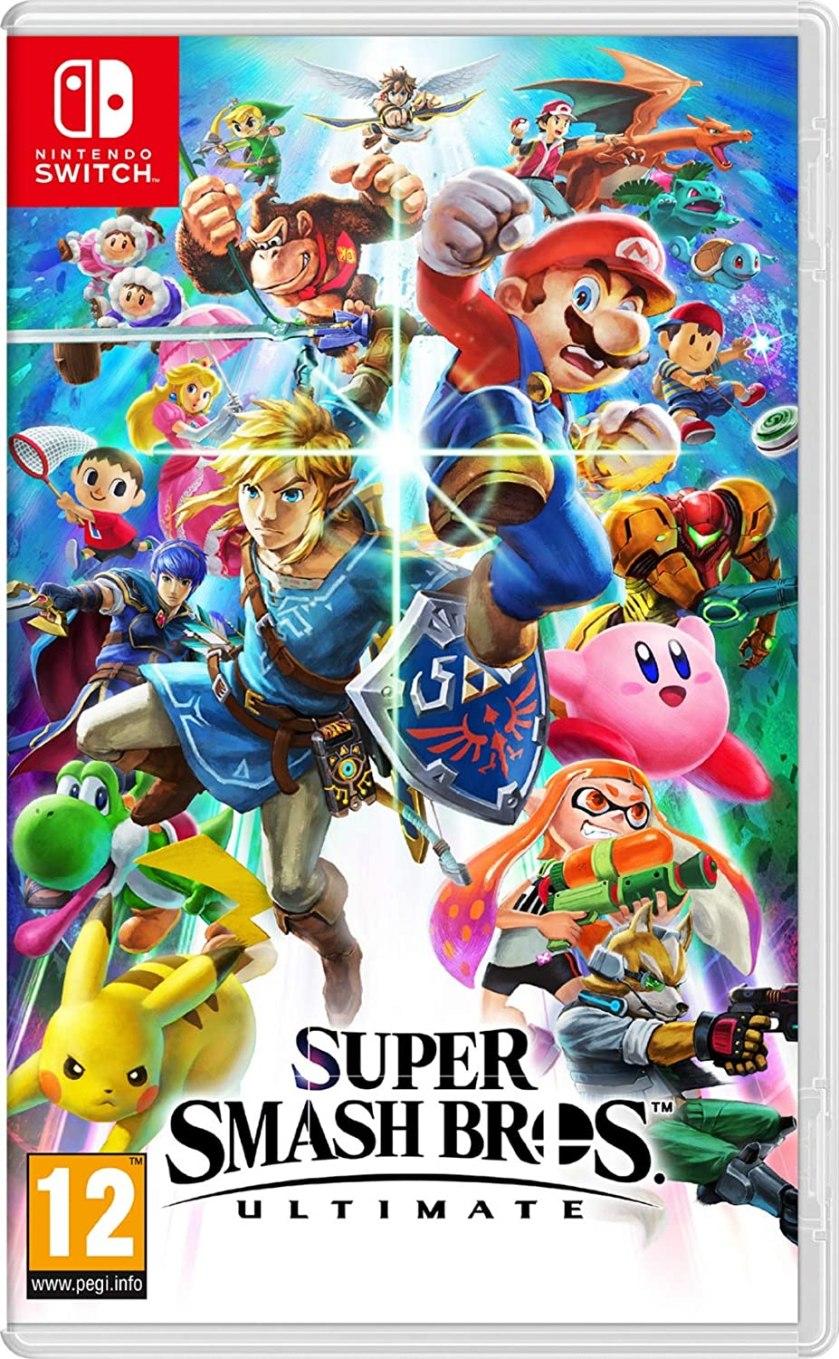 Image: Game Super Smash Bros.  Ultimate Nintendo Switch