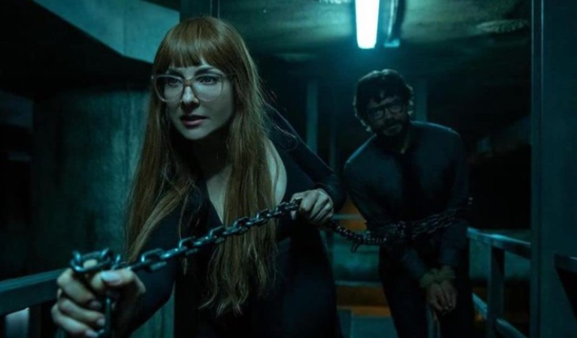 The Spanish series La Casa de Papel returns to Netflix with its 5th season this Friday (3).  (Netflix/Reproduction)