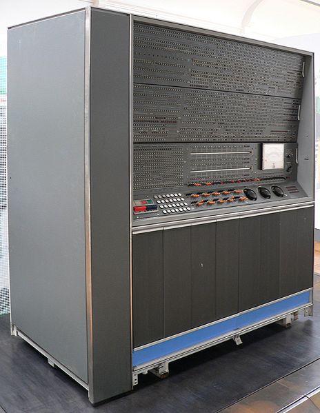 Imagem atual de um IBM 7090