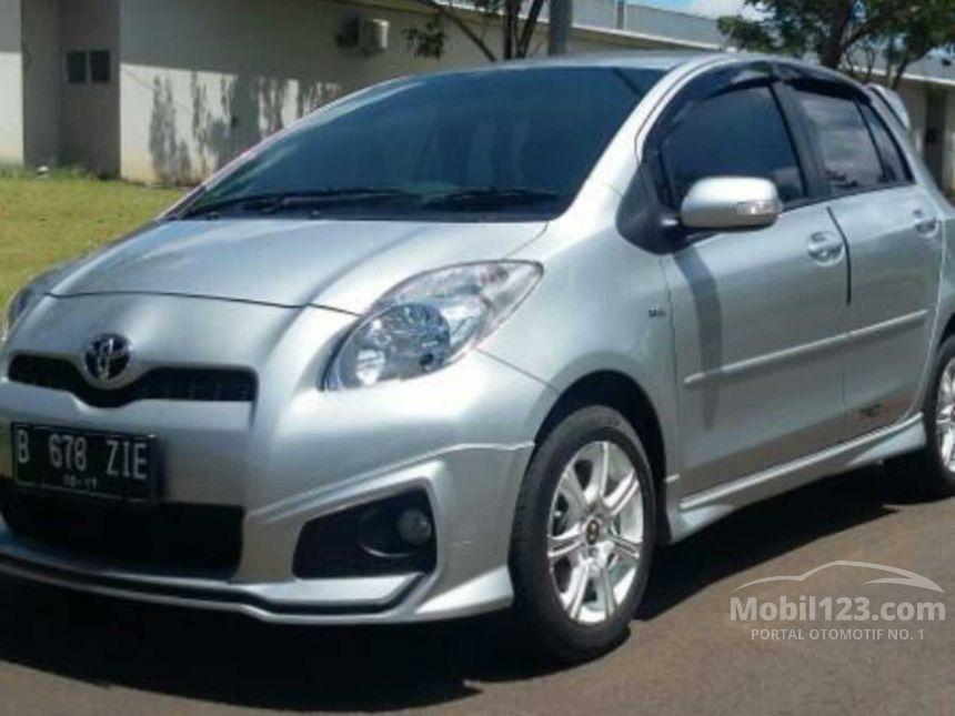toyota yaris trd sportivo manual speedometer grand new veloz jual mobil 2012 1.5 di banten ...