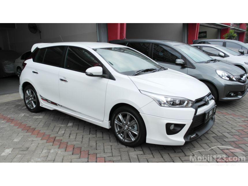 harga all new yaris trd sportivo 2014 grand veloz 2019 jual mobil toyota 1 5 di banten automatic hatchback