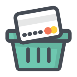 Shopping Icon Free Download PNG and Vector