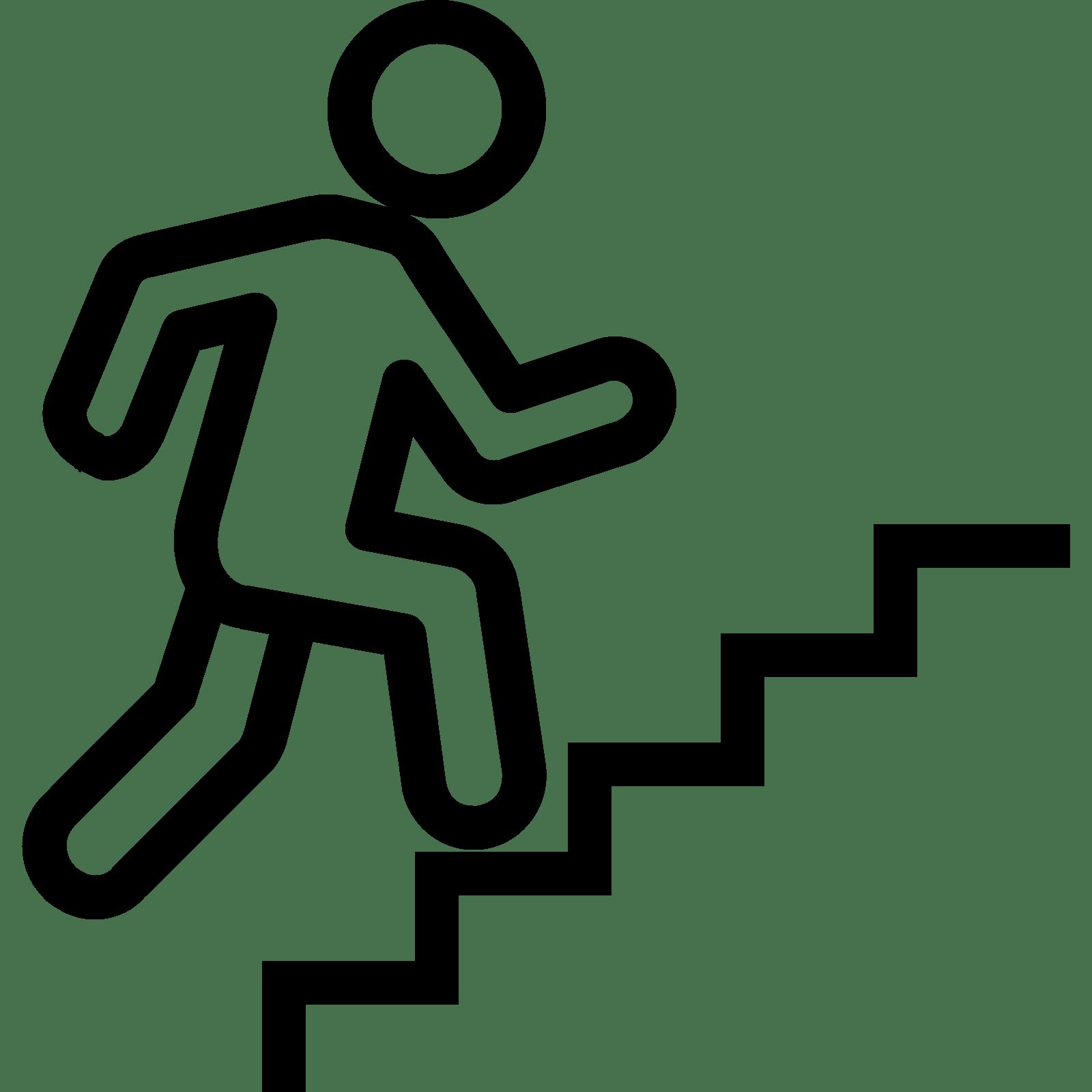 Escaleras Para Despertar Icono