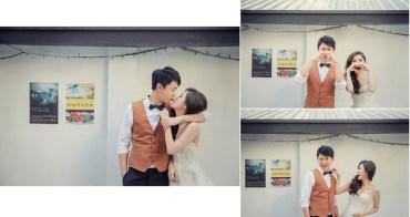 【婚紗紀錄】拍婚紗照新郎穿什麼?韓版西裝出租 台北板橋七顆梨