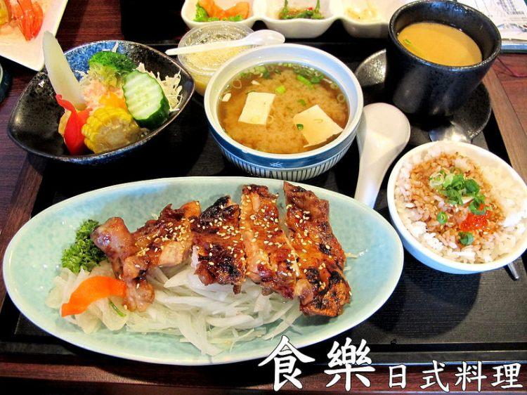 『彰化員林_食樂日式料理』商業午餐多樣選擇,沙拉~甜點讓你吃的滿足!