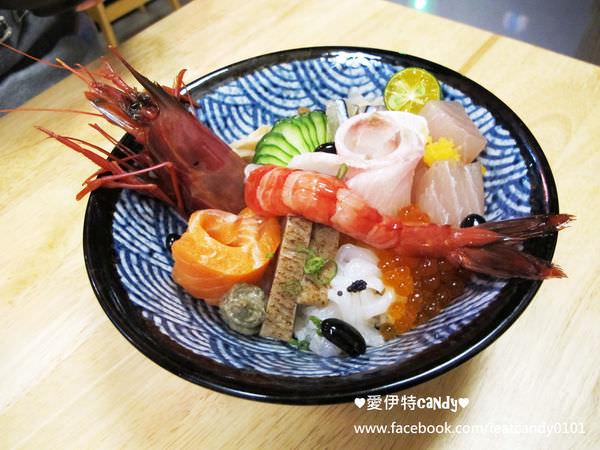 (已停業)嘉義東區餐廳_品二手丼燒烤日式食堂│新鮮有創意的日式料理,熟成青甘好鮮甜!品二招牌丼也太多料了!