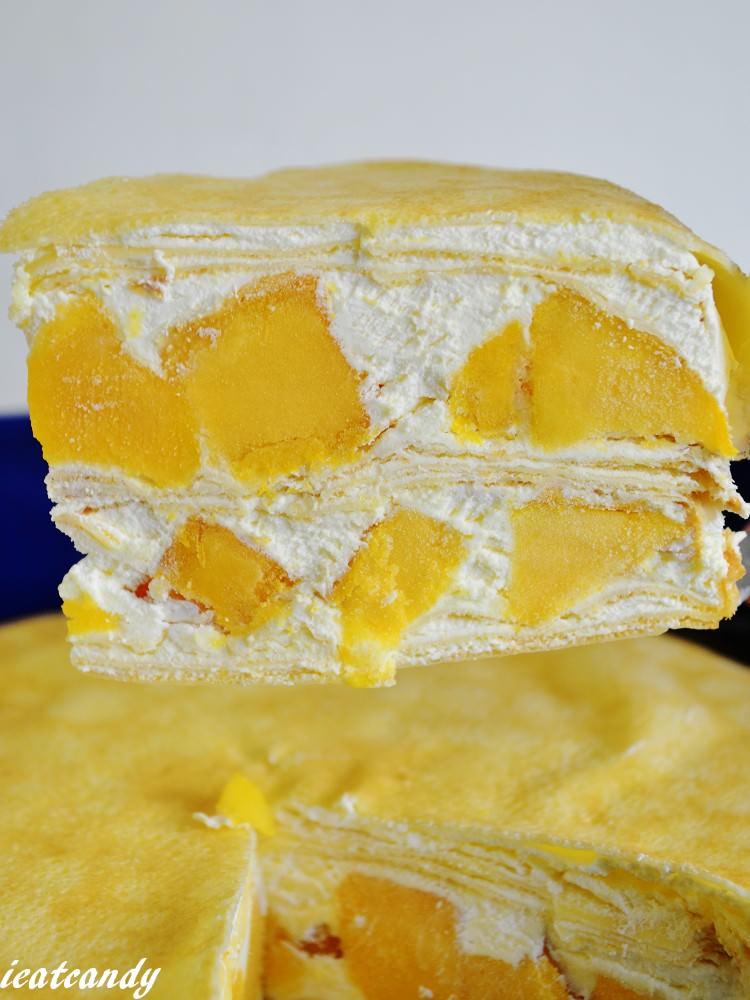 樂天芒果季(三)│宅配芒果甜點,塔吉特千層蛋糕