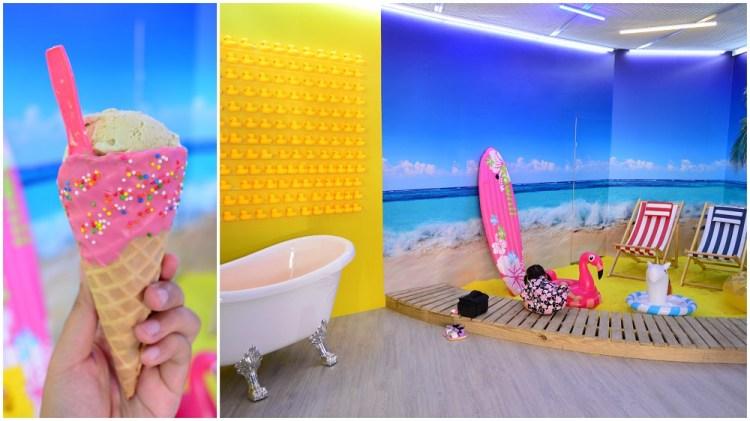鹿港美食_山風藍 義式冰淇淋│鹿港全新開幕!新打卡熱點,不加一滴水的義式冰淇淋~