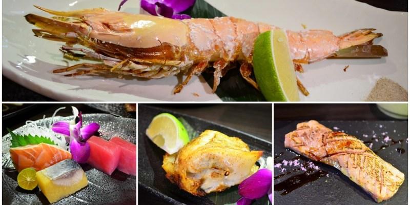 斗六美食_大江戶日本料理│無菜單料理品嘗到日本和牛?!手臂長的蝦子、肥美的鮭魚握壽司令人流口水啦~