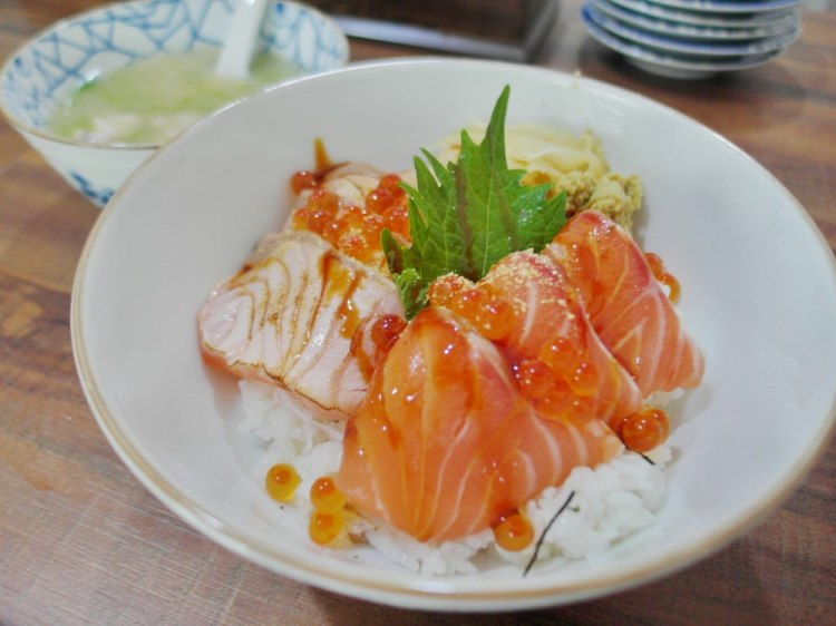 鹿港美食_神樂亭│鹿港新開幕日式料理店!鮭魚親子丼只要一百五十元!