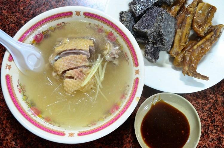 大明路鴨肉冬粉│鹿港美食、鹿港第一市場美食,從小吃到大的味道~