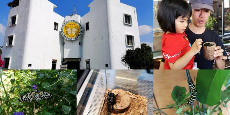 南投景點_蝴蝶小鎮生態休閒園區-木生昆蟲博物館│埔里親子景點,讓小朋友多多接近大自然~