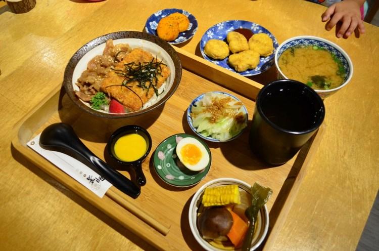 員林美食_老漾│員林農工旁全新開幕定食餐廳,日式簡約風格隱藏著樸實精緻美味。