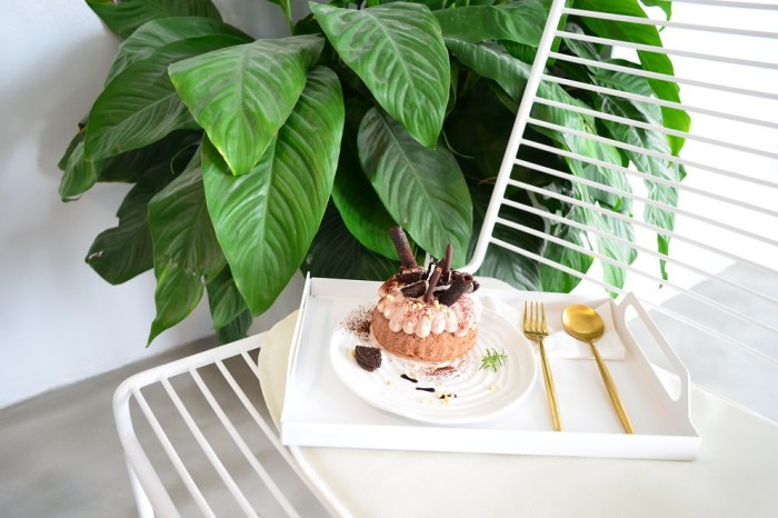 有片森林│員林大道美食,員林甜點店,全新開幕的簡約下午茶~好拍又好吃!