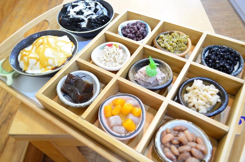 綠果子手調茶飲咖啡豆花仙草│斗六火車站美食,斗六下午茶,斗六甜點。