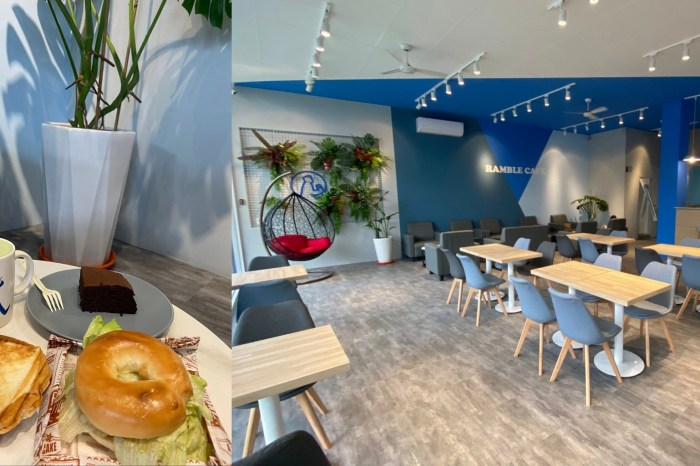 Ramble Cafe漫步藍咖啡|田中美食,田中咖啡,田中早餐。