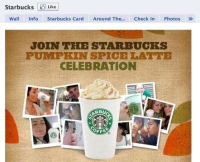 Starbucks Pumpkin Spice Latte Celebration