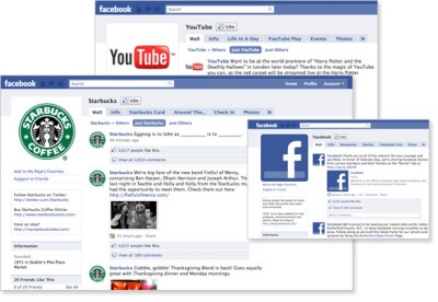 Top 3 Branded Facebook Pages